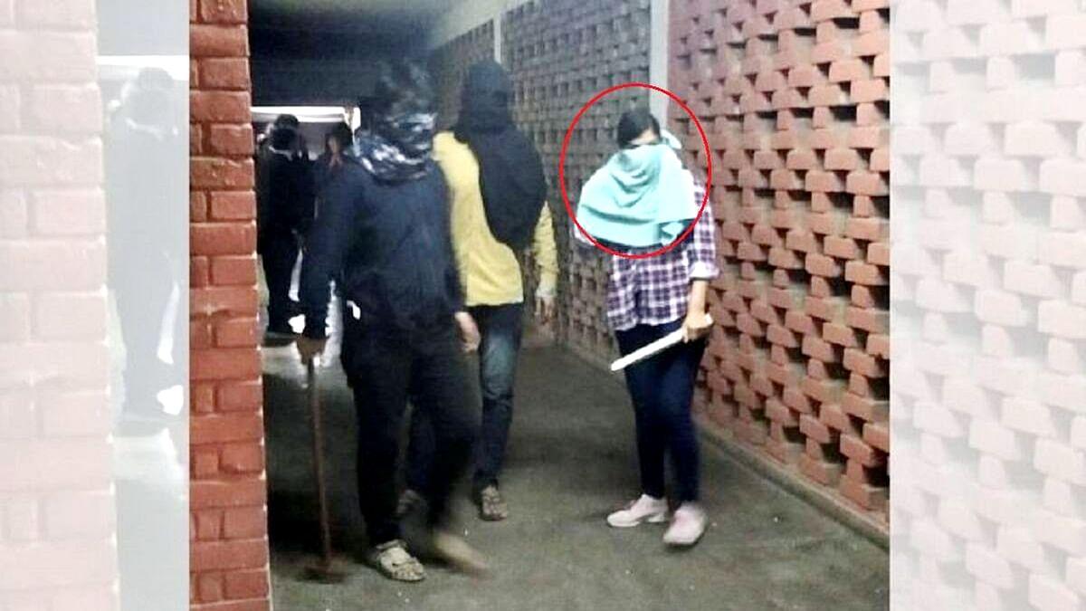 JNU Violence Masked Girl Identified