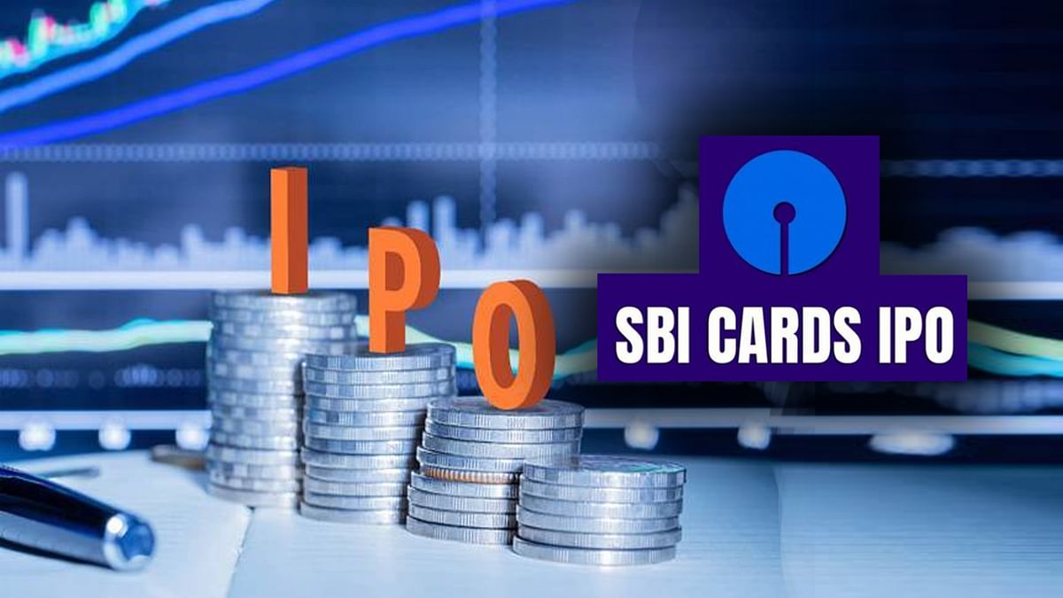 SBI card collected amount from IPO