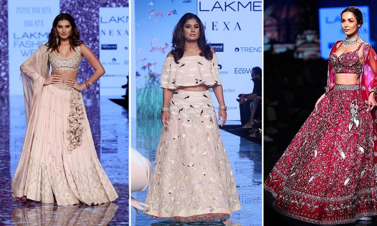 लैक्मे फैशन वीक में हसीनाओं का जलवा, मिताली राज भी आईं नजर