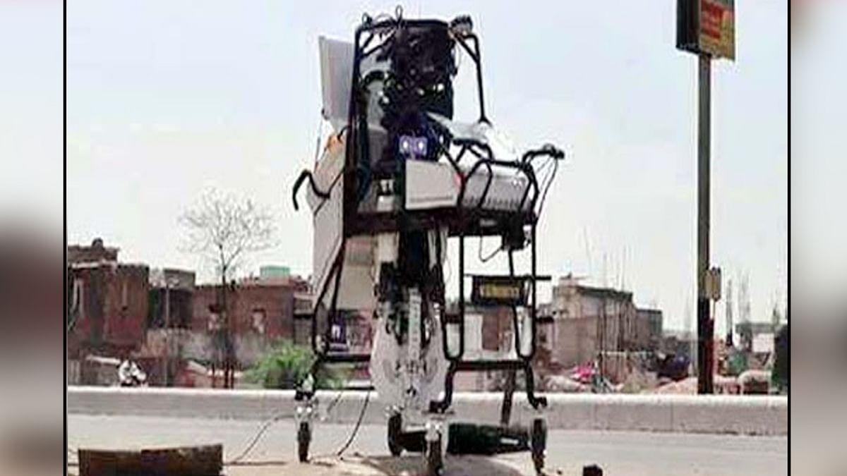 स्वच्छता की रेस में इंदौर नगर निगम की रोबॉटिक पहल