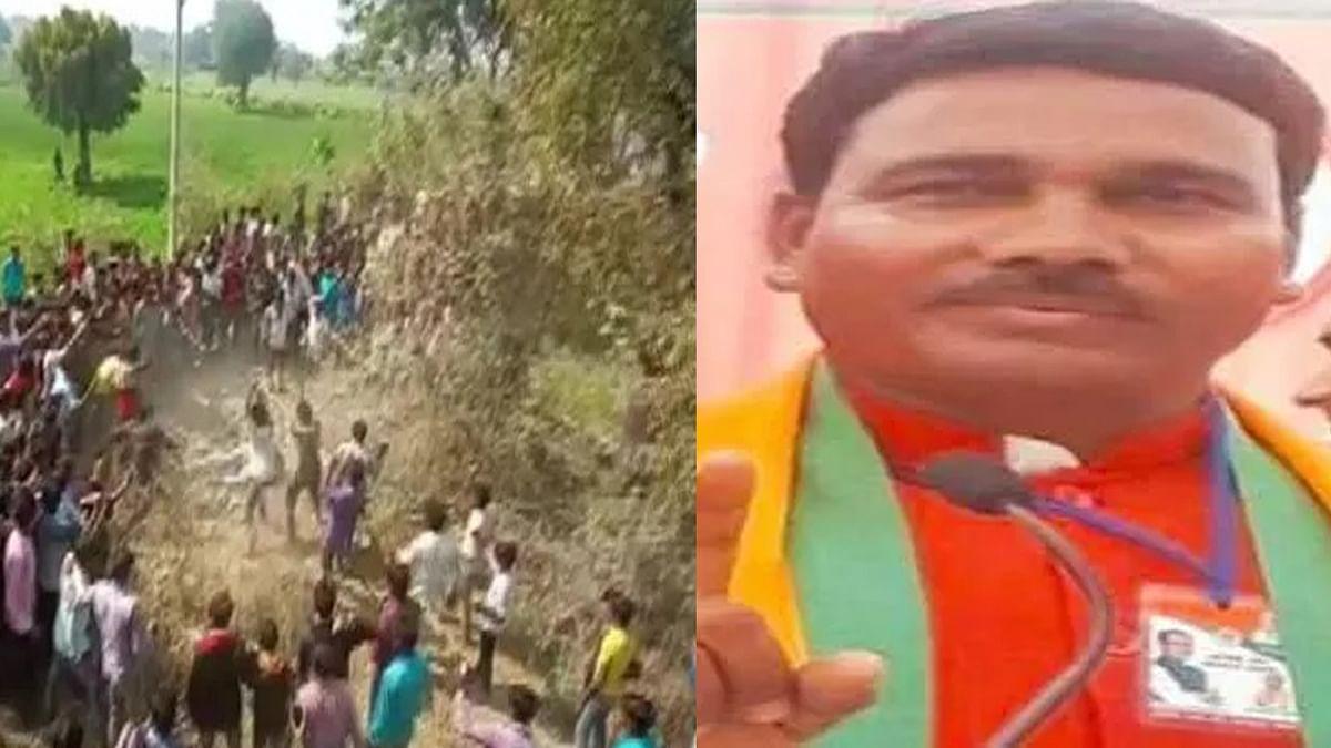 धार मॉब लिंचिंग केस: बीजेपी नेता और पुलिस वालों पर गिरी गाज