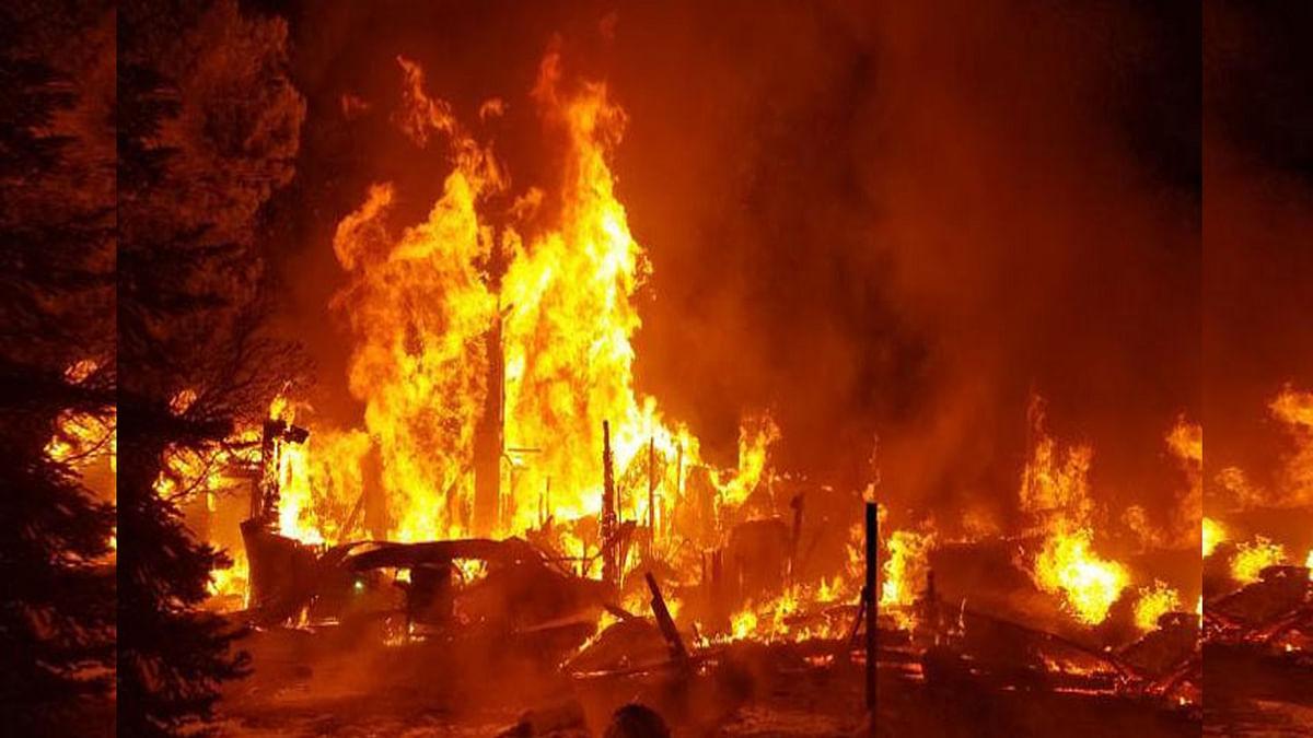 धार : आग की चपेट में आने से झुलसे भाई-बहन, हुई दर्दनाक मौत
