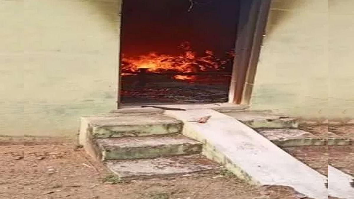 बाघ का आतंक: महिला का शव मिला, गाँव वालों ने फूँका ईको सेंटर