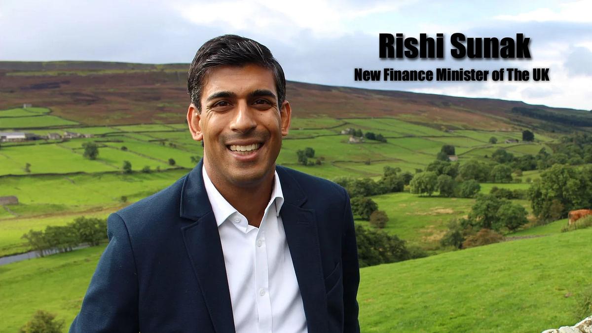 Rishi Sunak, New Rinance Minister of The UK