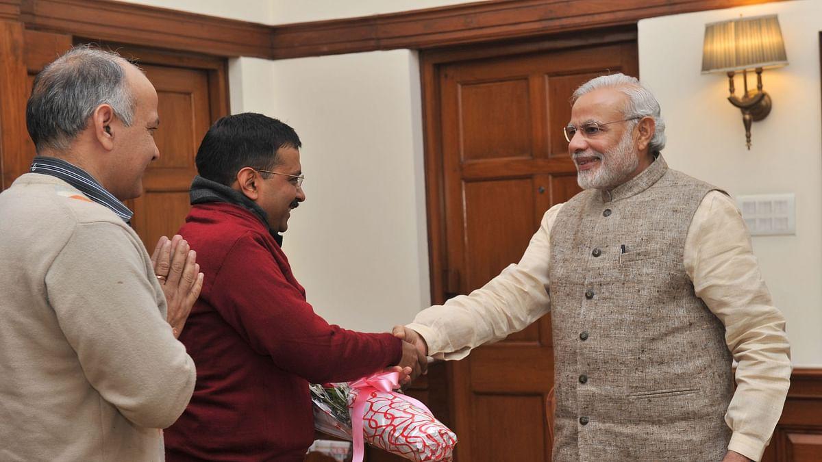 दिल्ली चुनाव : प्रधानमंत्री मोदी ने दी अरविंद केजरीवाल को बधाई