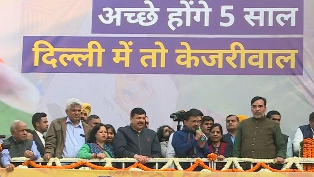 दिल्ली चुनाव : विकास पर किया दिल्ली की जनता ने विश्वास
