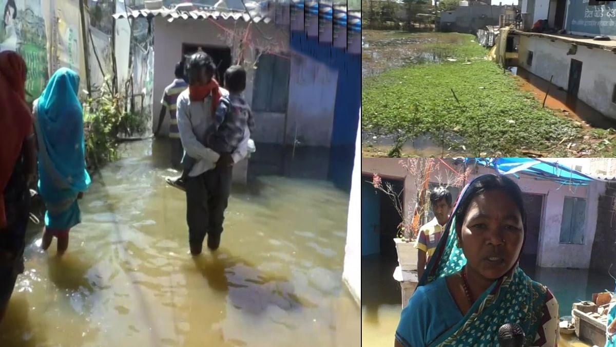 बेमौसम पानी के बहाव से जलसमाधि लेने को मजबूर एक परिवार