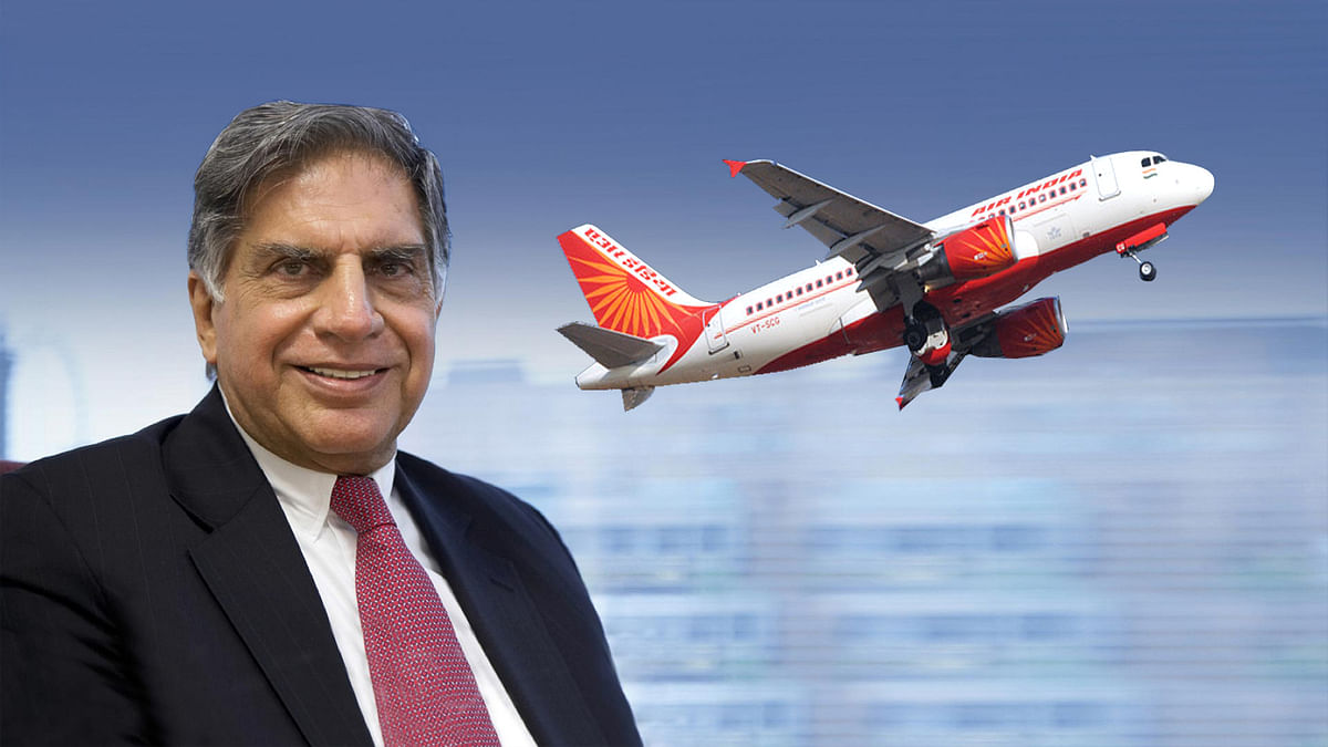 Tata group will take charge of Air India