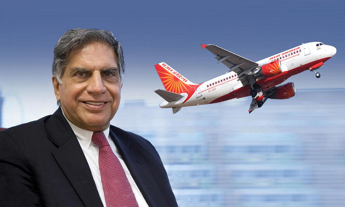 टाटा ग्रुप के हाथ फिर आई Air India की कमान, रतन टाटा बोले: 'वेलकम बैक'