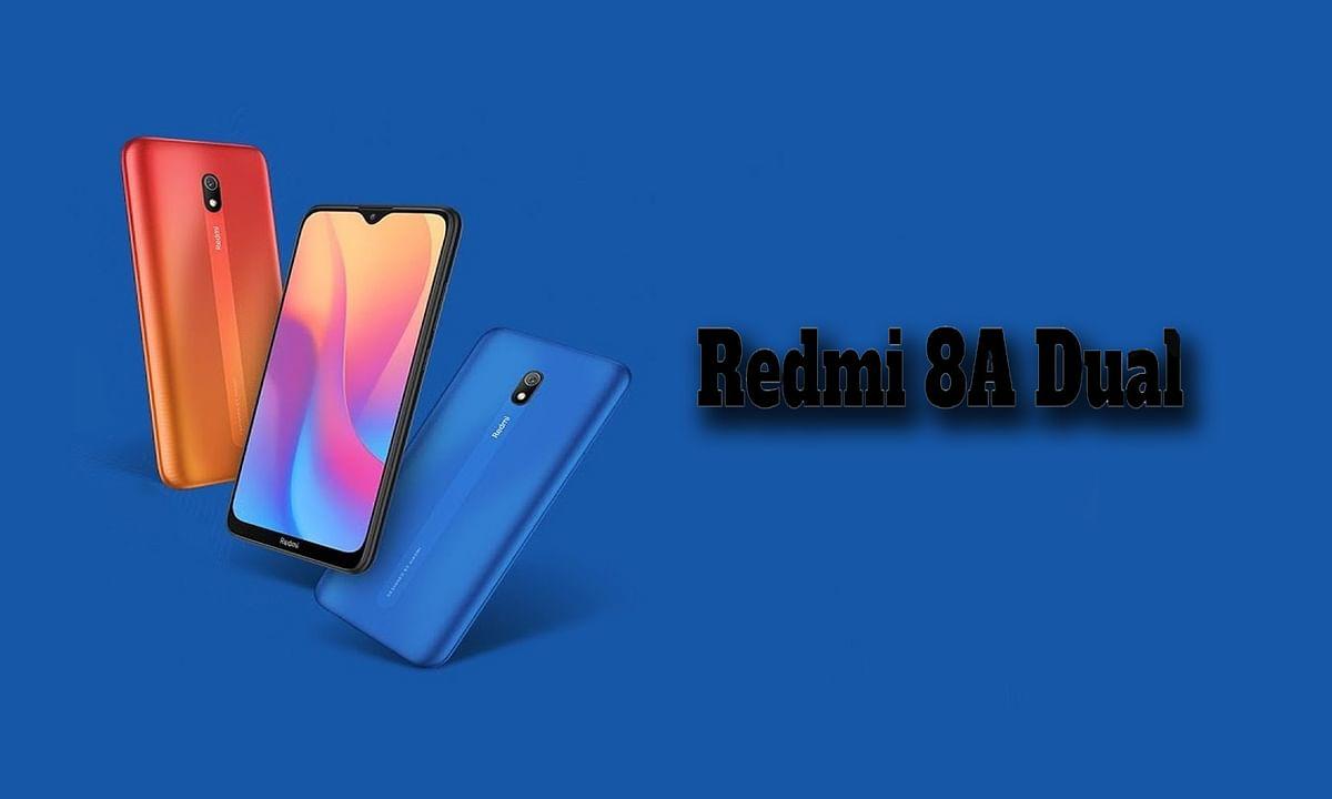 भारत में लांच Redmi 8A dual बजट स्मार्टफोन