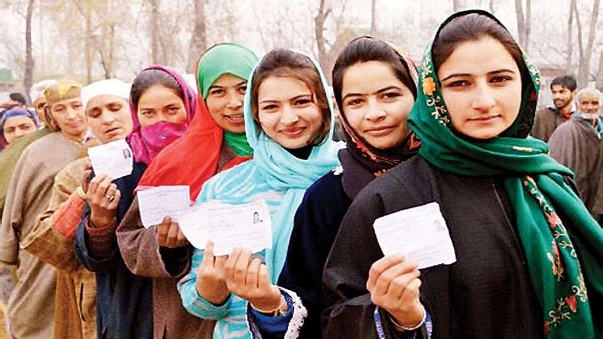 जम्मू-कश्मीर से आर्टिकल 370 हटने के बाद पहली बार होंगे चुनाव