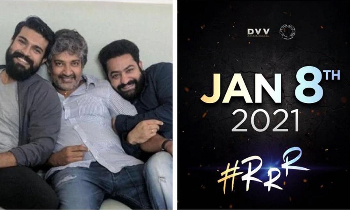 अब अगले साल रिलीज होगी राजामौली की फिल्म RRR, ट्विटर पर दी जानकारी