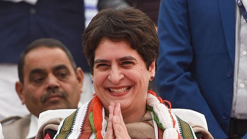 कांग्रेस महासचिव प्रियंका गांधी वाड्रा