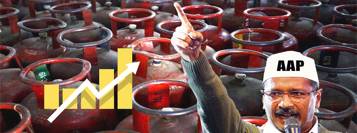 LPG cylinder price increased in delhi