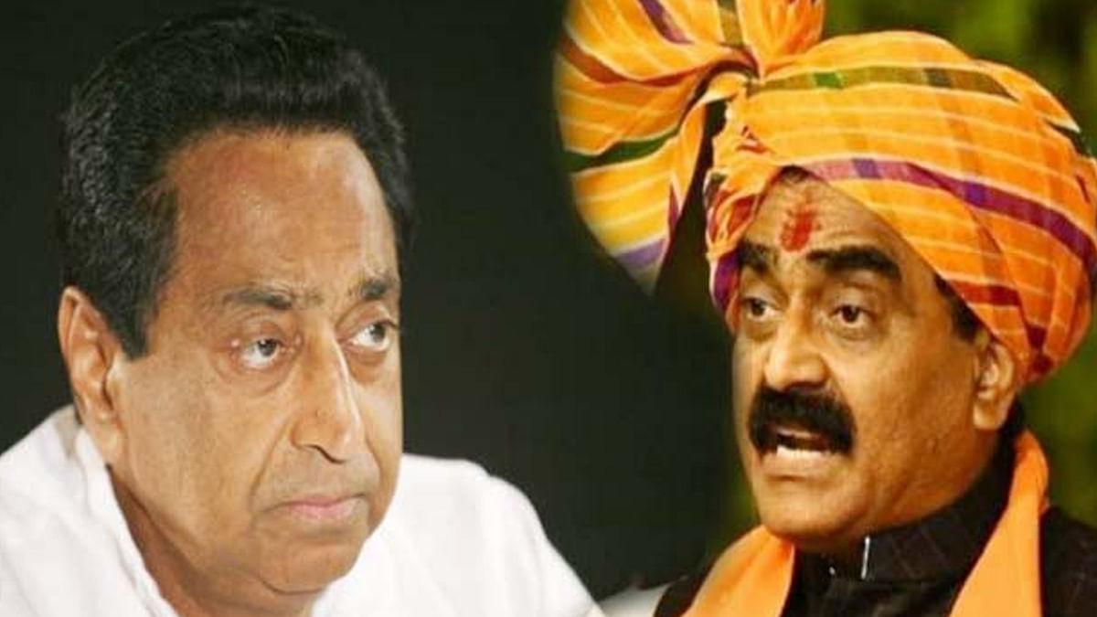 CM कमलनाथ और बीजेपी प्रदेशाध्यक्ष राकेश सिंह के बीच वार-पलटवार
