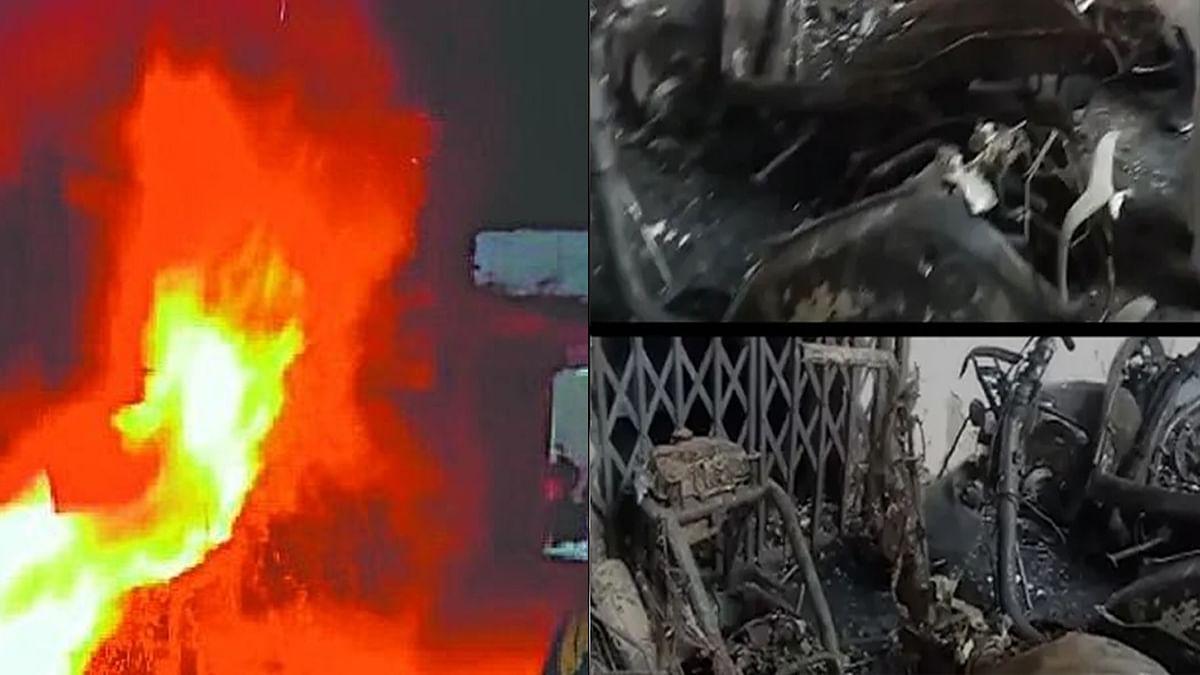 रंजिश में सनकी मजनुओं ने जलाई थीं पी&टी कॉलोनी में गाड़ियां