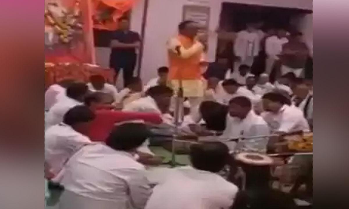 विधायक चौरे ने लांघी मर्यादा, खाल खींचने की धमकी का वीडियो वायरल