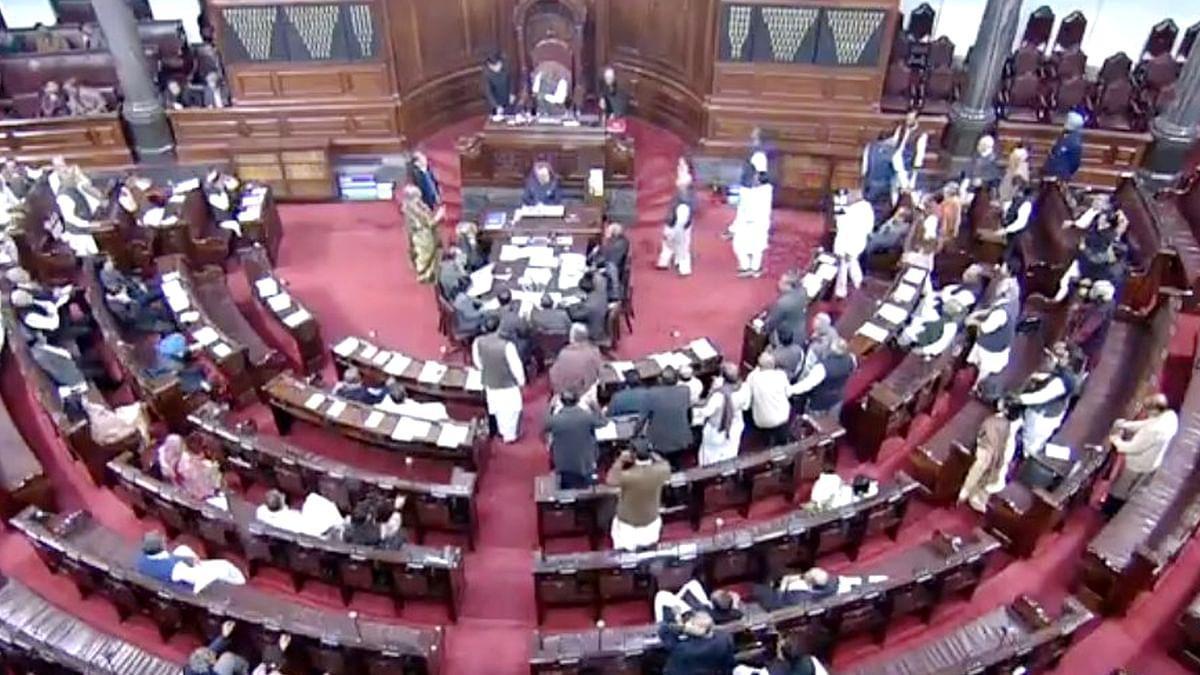 संसद में विपक्ष ने किया जमकर हंगामा और नारेबाजी