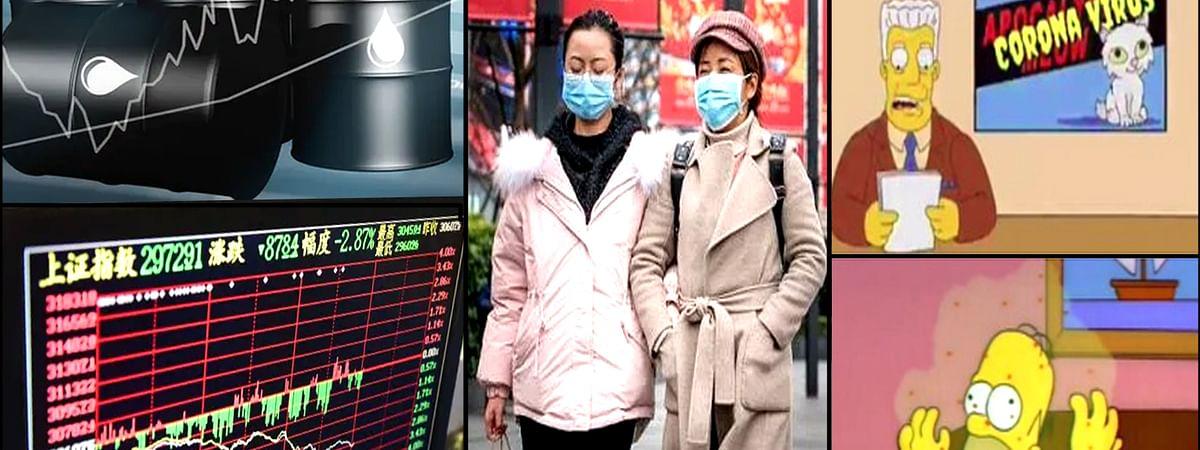 Coronavirus affected china stock and oil market