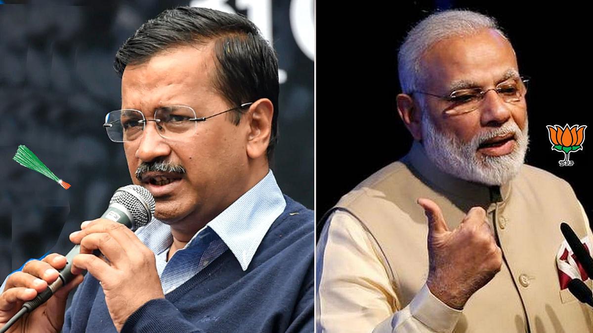 कमल-झाड़ू पर वोट के लिए PM और CM की मतदाताओं से अपील