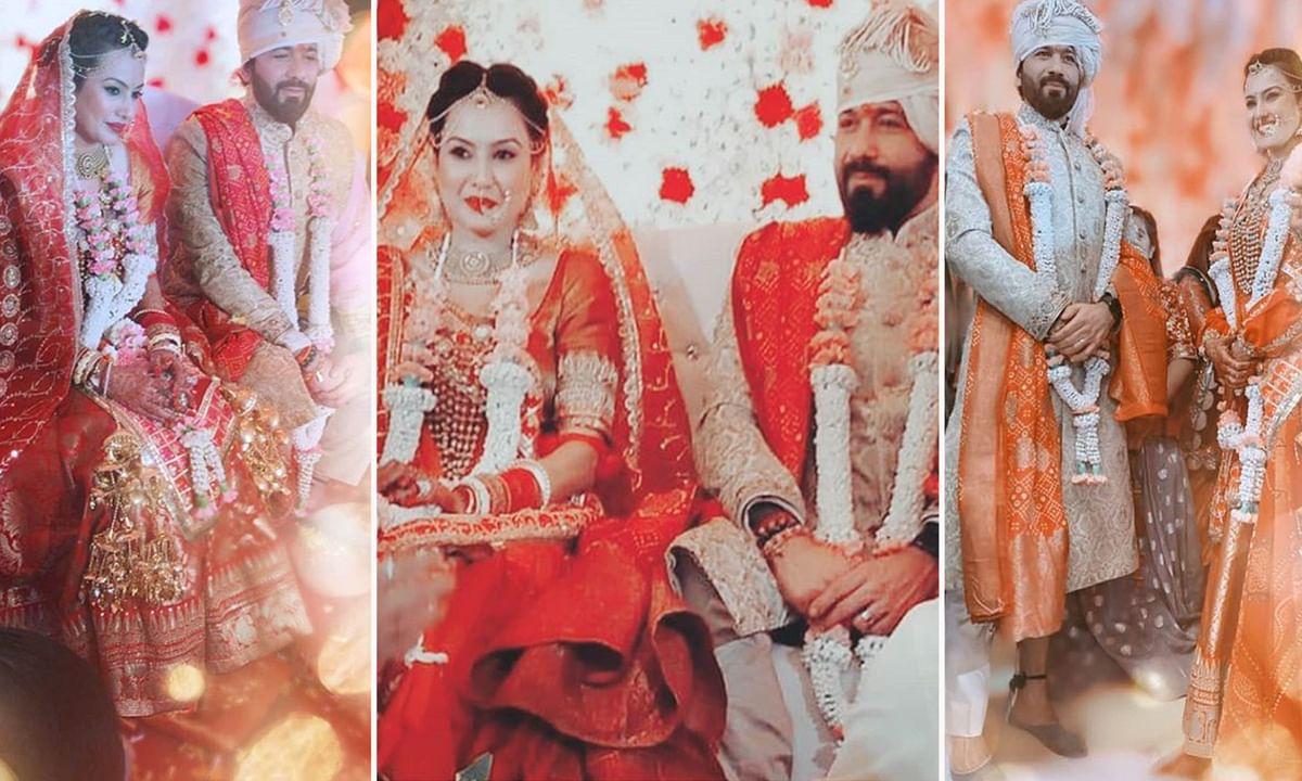 काम्या पंजाबी और शलभ डांग की शादी और मेहंदी की तस्वीरें हुईं वायरल