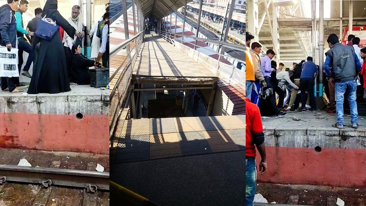 भोपाल रेलवे स्टेशन पर बड़ा हादसा