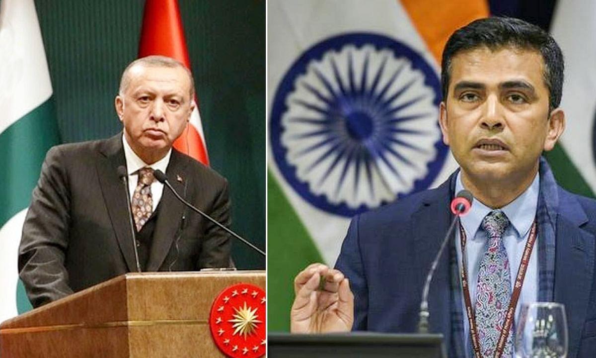 तुर्की राष्ट्रपति को भारत का दो-टूक जवाब