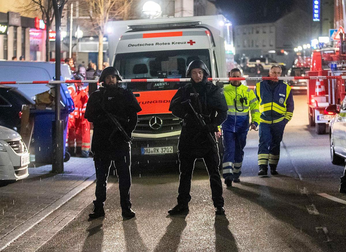 जर्मनी के हुक्का लाउंज में फायरिंग, आठ लोगों की मौत