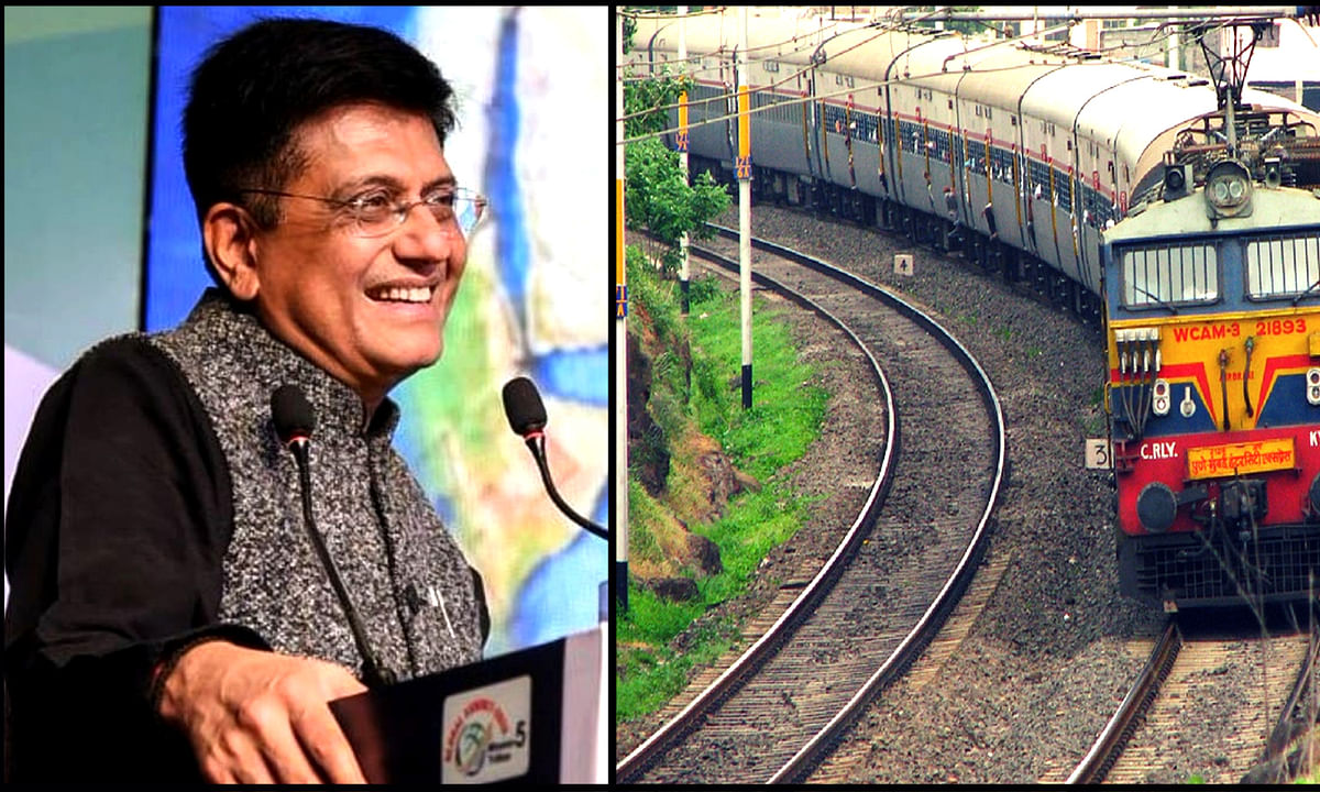 रेलवे के निजीकरण को लेकर फैल रही अफवाहों पर बोले रेल मंत्री गोयल