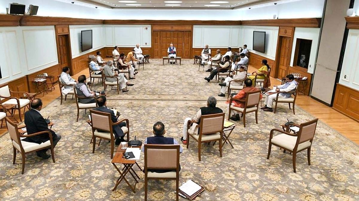 Cabinet Meeting On Prime Minister Residence