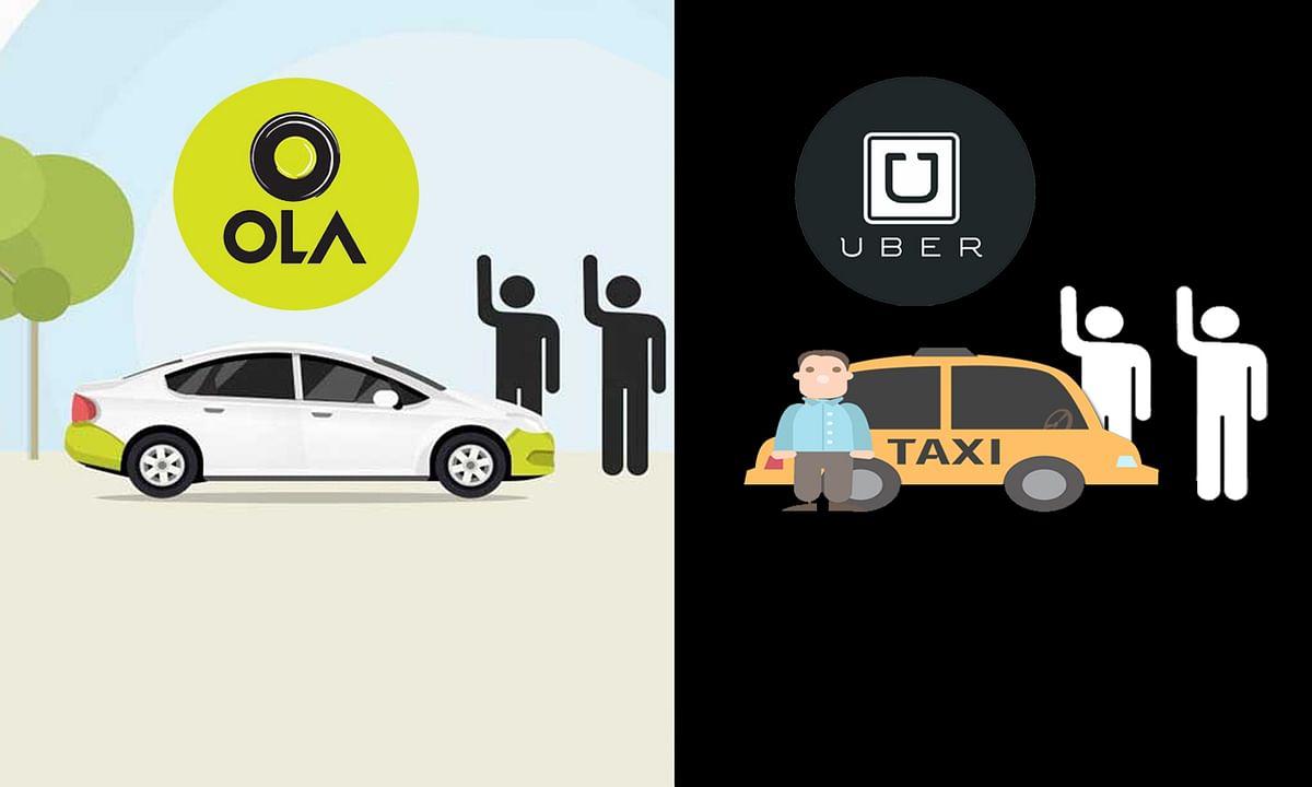 Delhi NCR Ola-Uber drivers on strike today