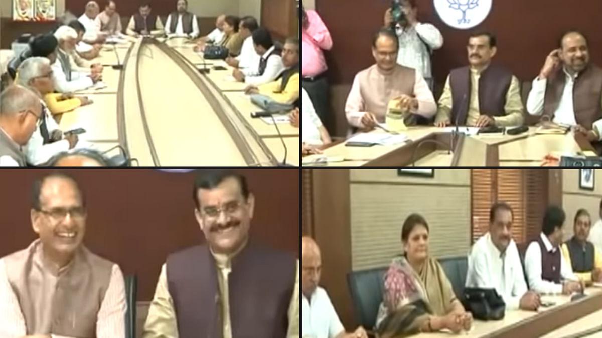 भाजपा विधायक दल की बैठक आज शाम