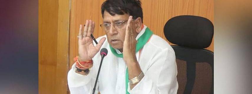 मध्य प्रदेश सरकार में मंत्री पीसी शर्मा
