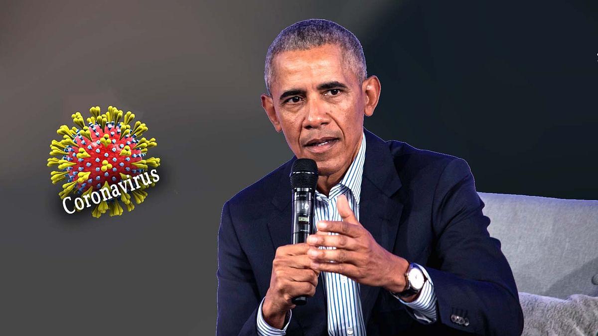 दुनियाभर में पैर पसार रहे 'कोरोना वायरस' पर ओबामा की सलाह