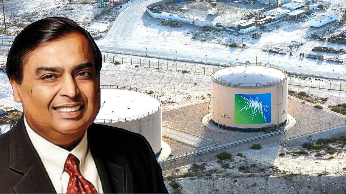 Saudi Aramco can deal with Reliance Industries of India