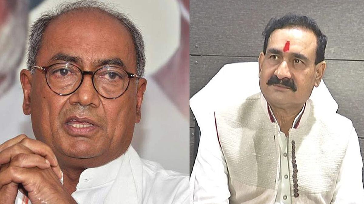 दिग्गी ने गृहमंत्री को लिखा पत्र, कहा- IAS जांगिड़ को सुरक्षा मुहैया कराएं