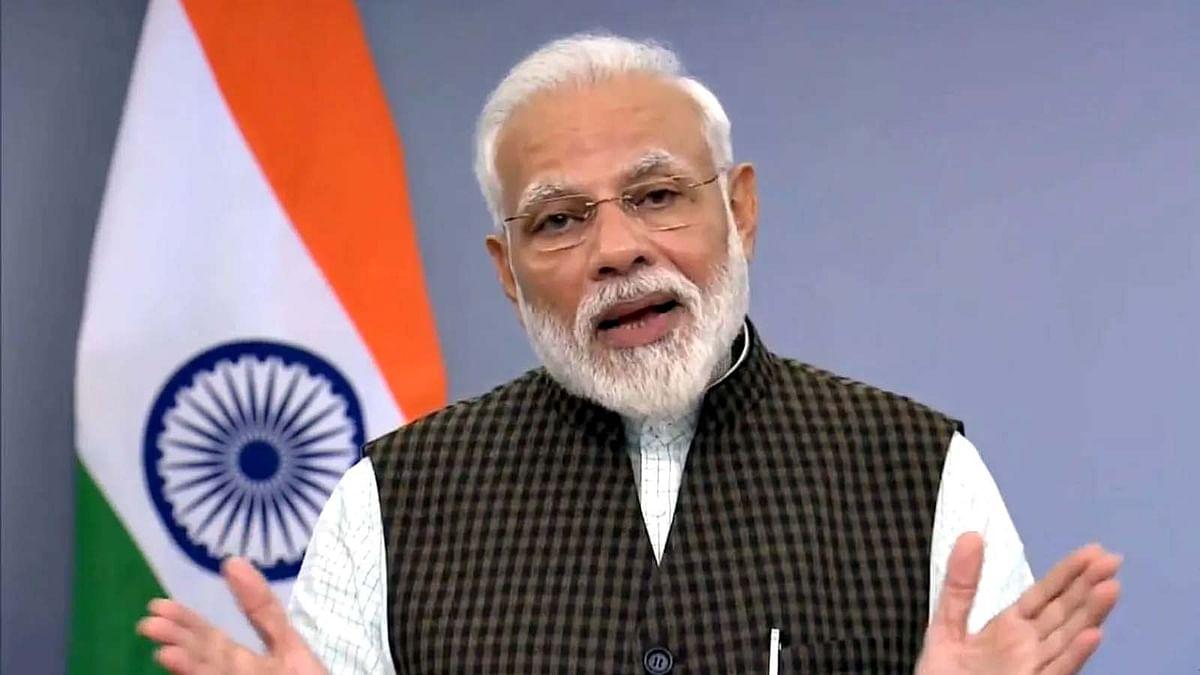 PM मोदी ने नवरात्रि की शुभकामनाएं देते हुए इस अंदाज में दिया संदेश