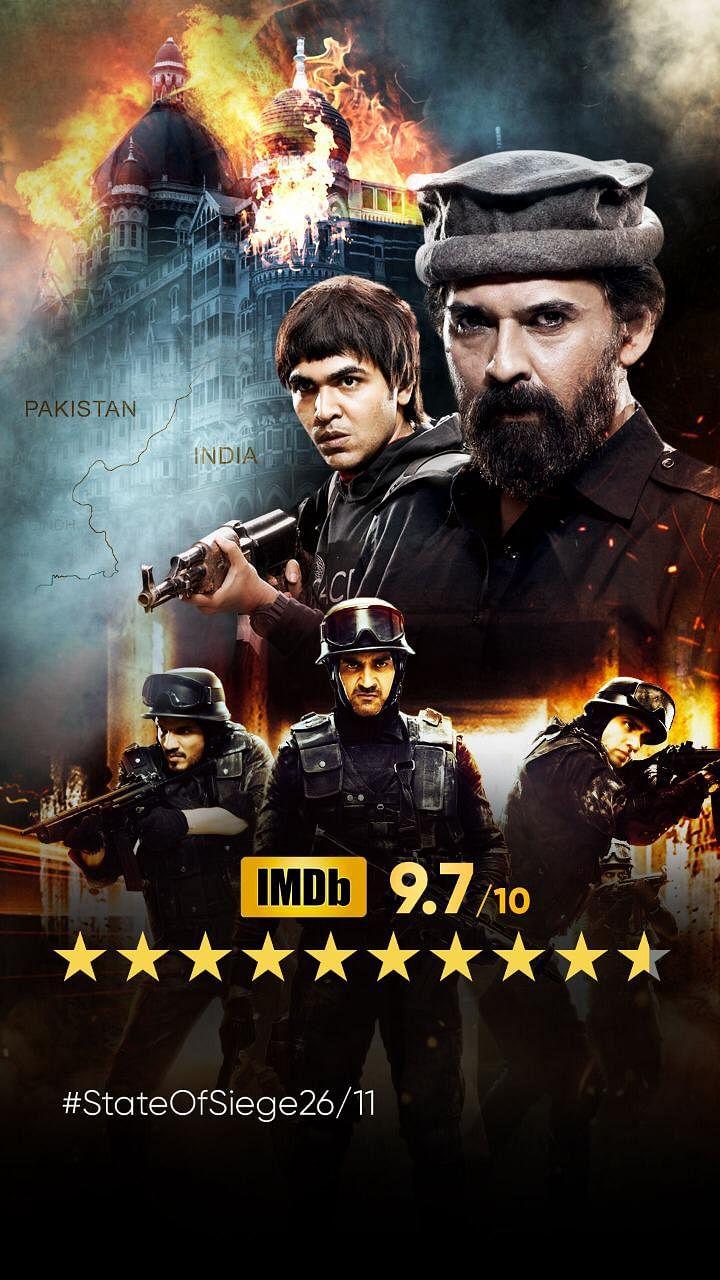 """स्टेट ऑफ़ सीज: 26/11"""" को आईएमडीबी पर मिली 9.7 /10 की रेटिंग"""