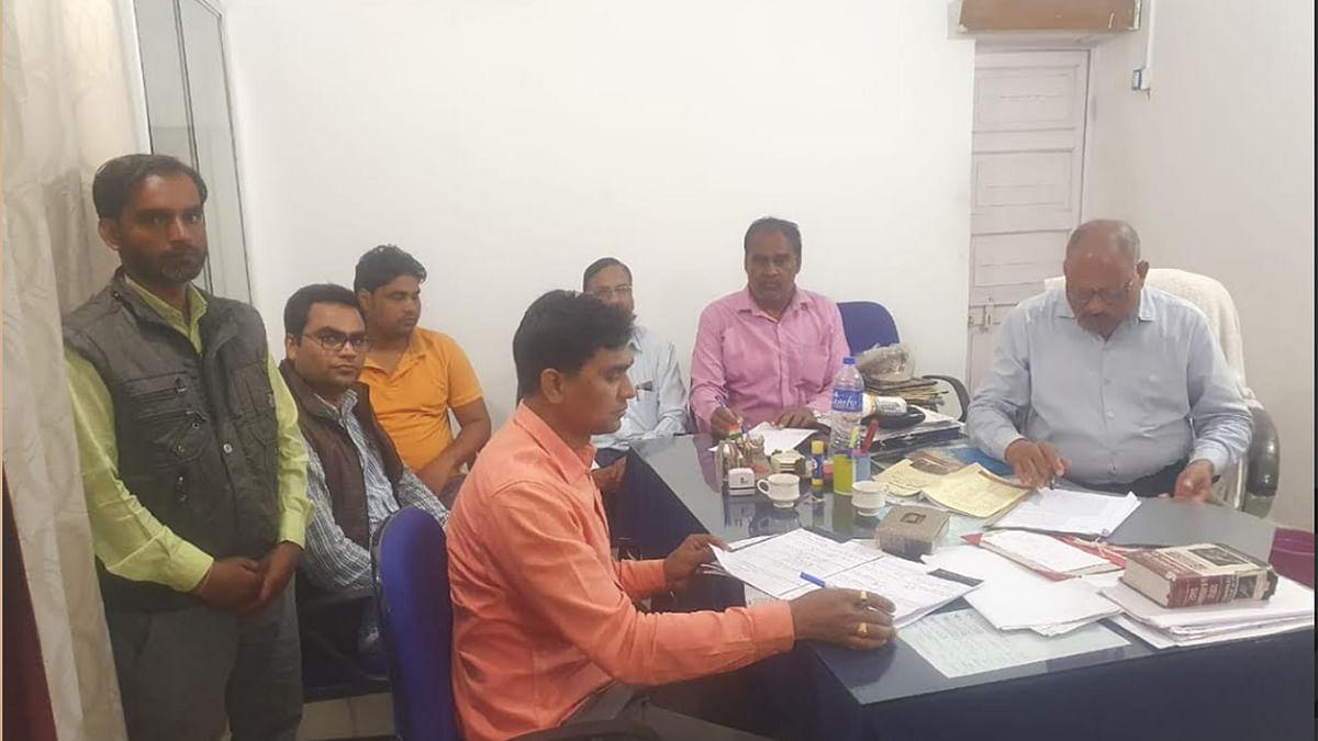 अनूपपुर जिला के रामनगर थाने में लोकायुक्त पुलिस की कार्यवाही