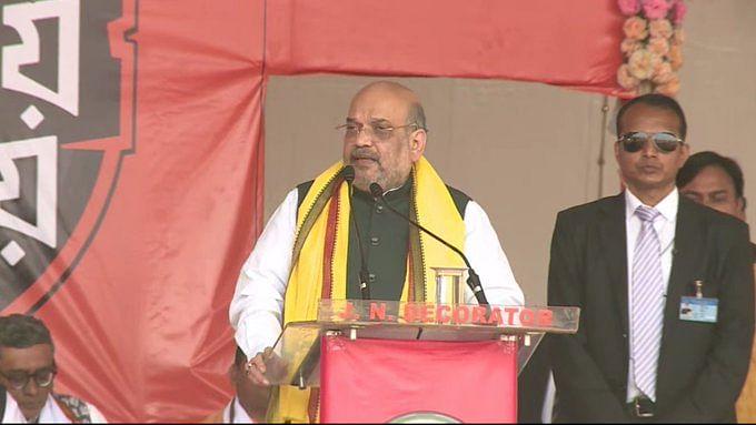 मोदी सरकार को पांच साल दें, हम राज्य को 'सोनार बंगाल' बनाएंगे: शाह