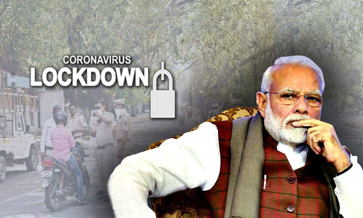 लॉकडाउन का पालन न करने पर PM मोदी का सख्त रवैया