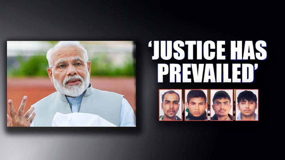 जानें निर्भया के दोषियों की फांसी पर PM मोदी क्या बोले...