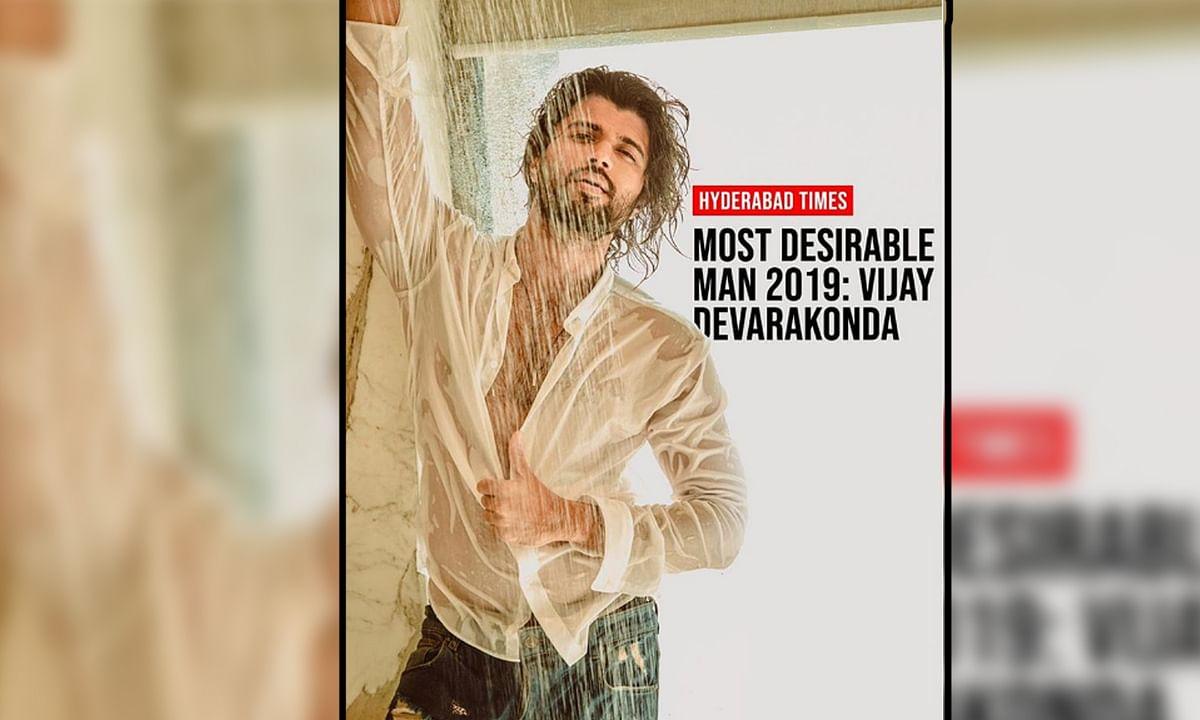 विजय देवरकोंडा ने 'मोस्ट डिजायरेबल मैन 2019' खिताब किया अपने नाम