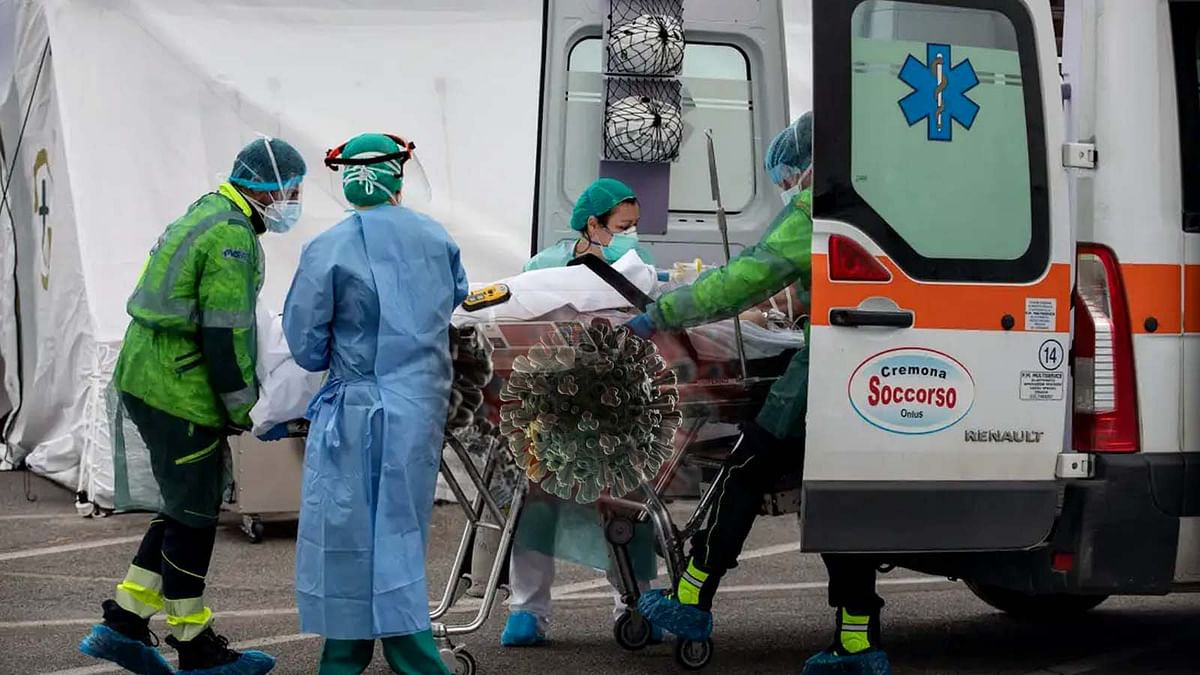 627 People Died In Italy Due To Coronavirus