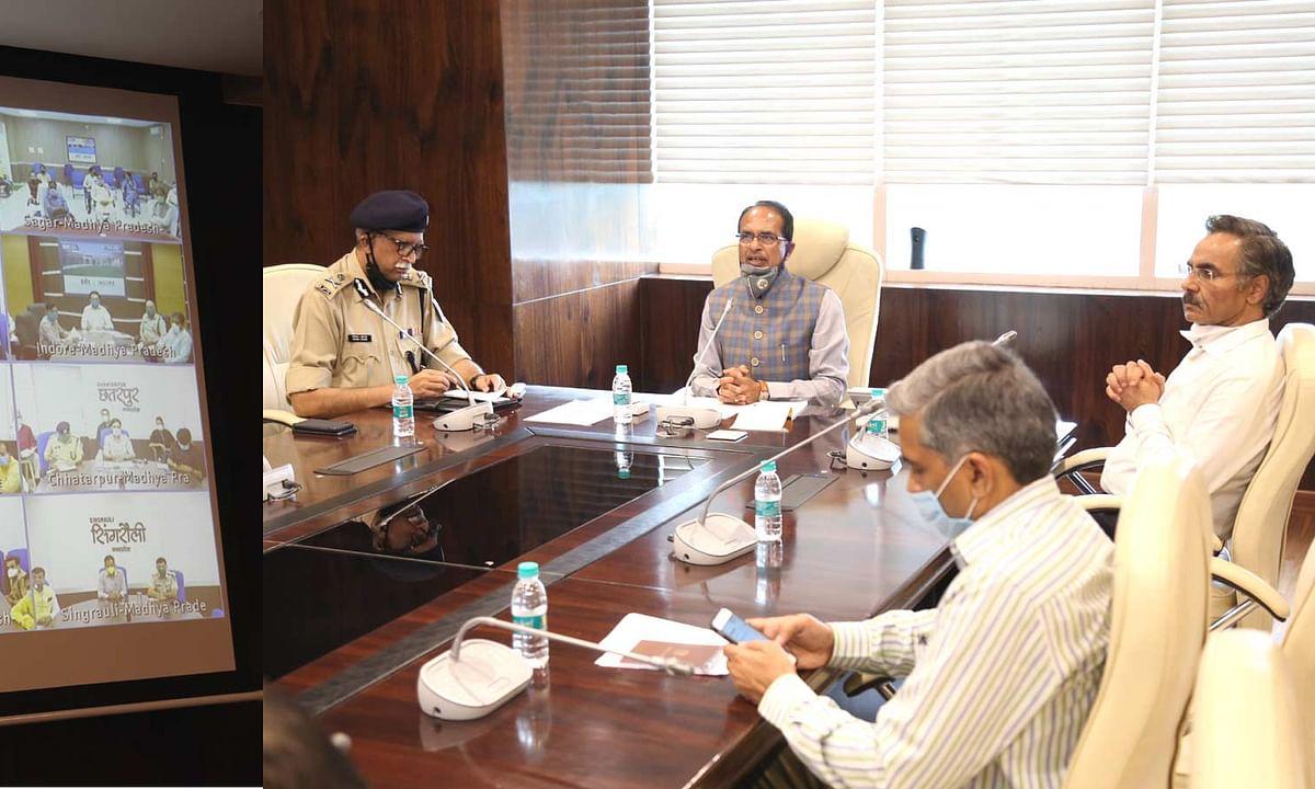 किसान चिन्ता न करें, सरकार उनके साथ है : मुख्यमंत्री शिवराज सिंह