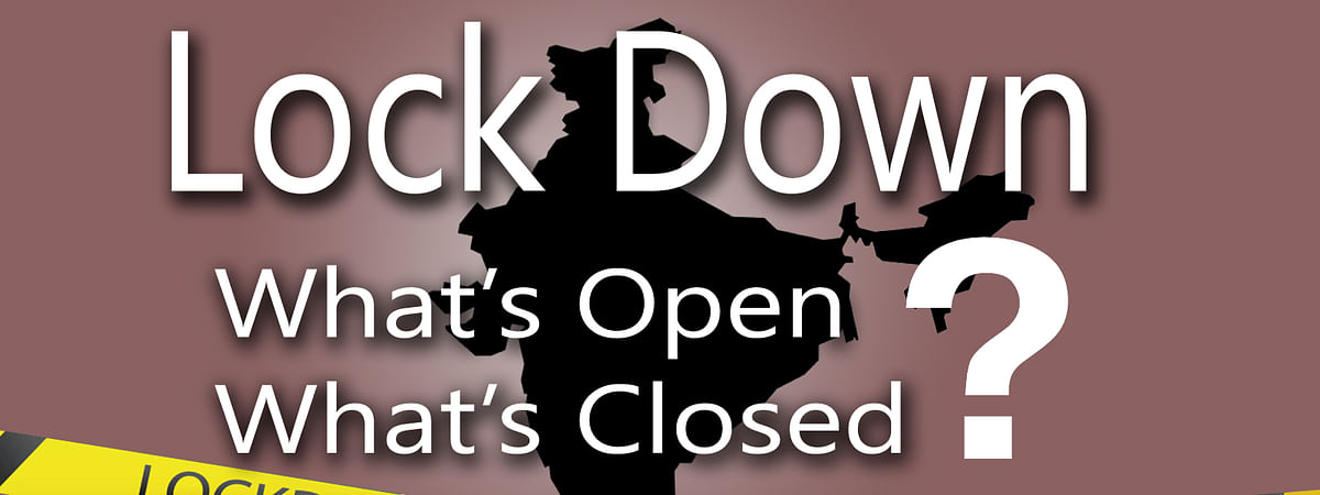 What's open And What's closed in lock down