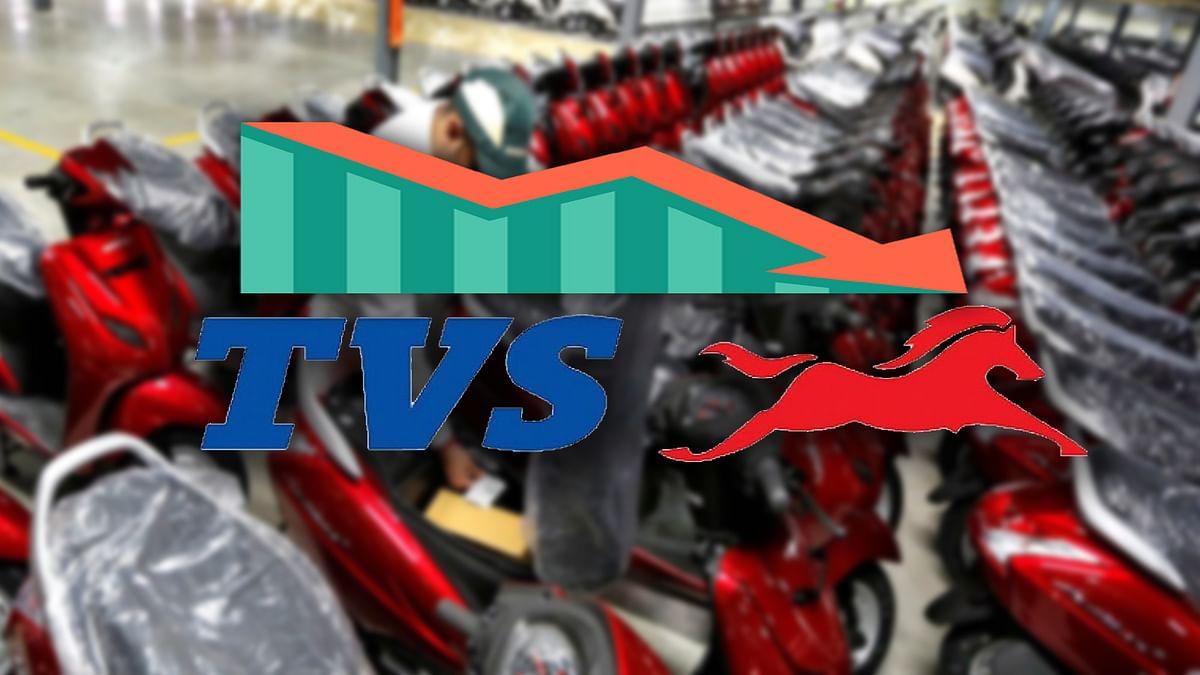 TVS Vehicle Sales Decreased