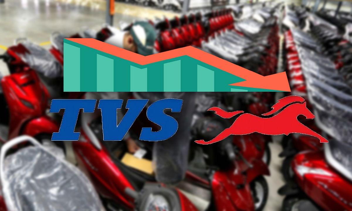TVS कंपनी की वाहन बिक्री पर पड़ा 'कोरोना वायरस' का बुरा असर