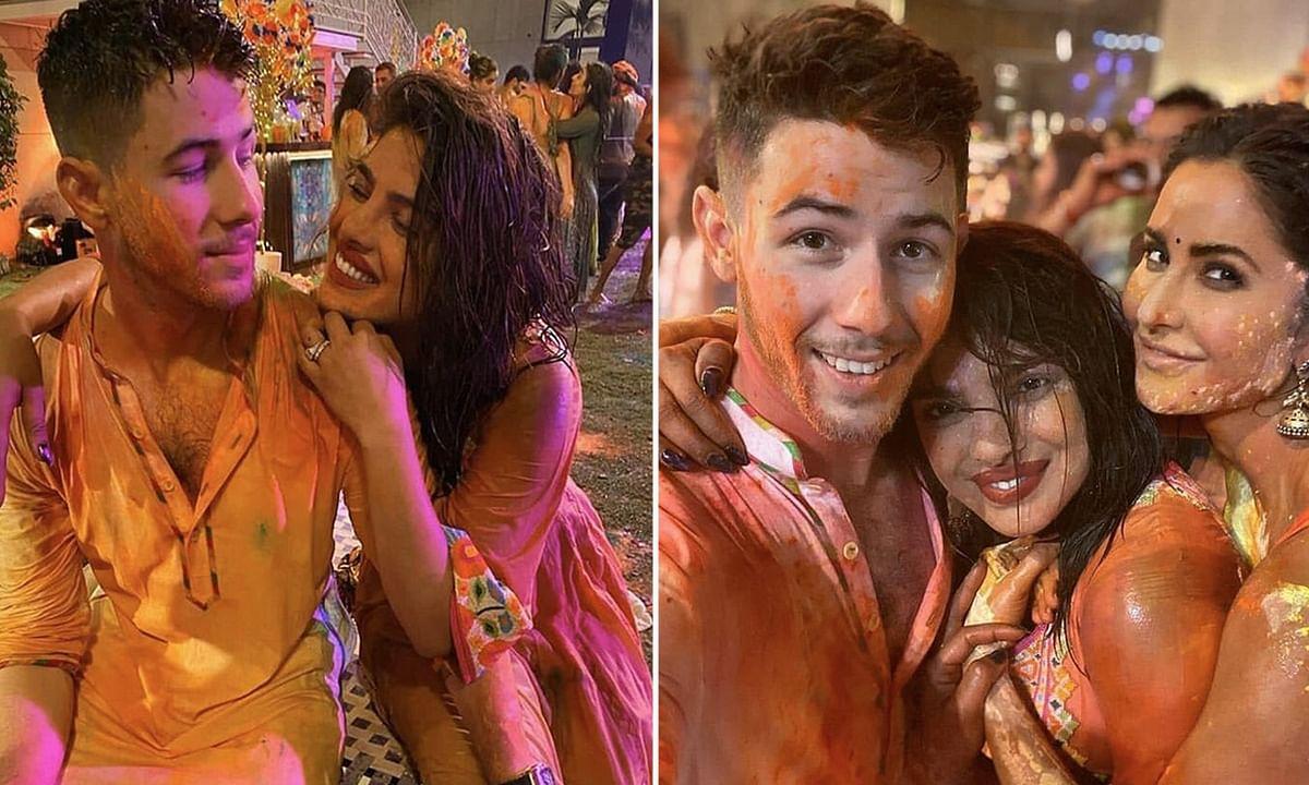 ईशा अंबानी के होली पार्टी में Bollywood, प्रियंका-निक की पहली होली