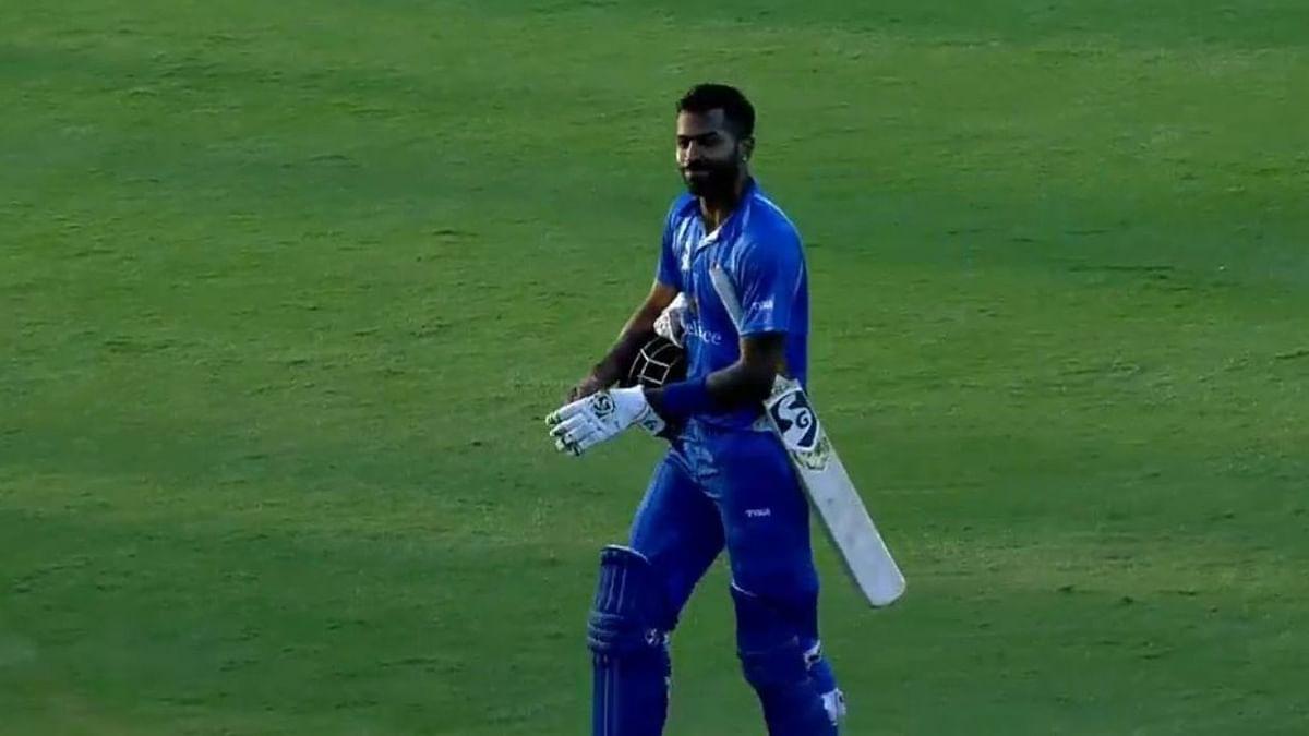 एक बार फिर हार्दिक पांड्या की आतिशी बल्लेबाजी, बना दिए अकेले 158